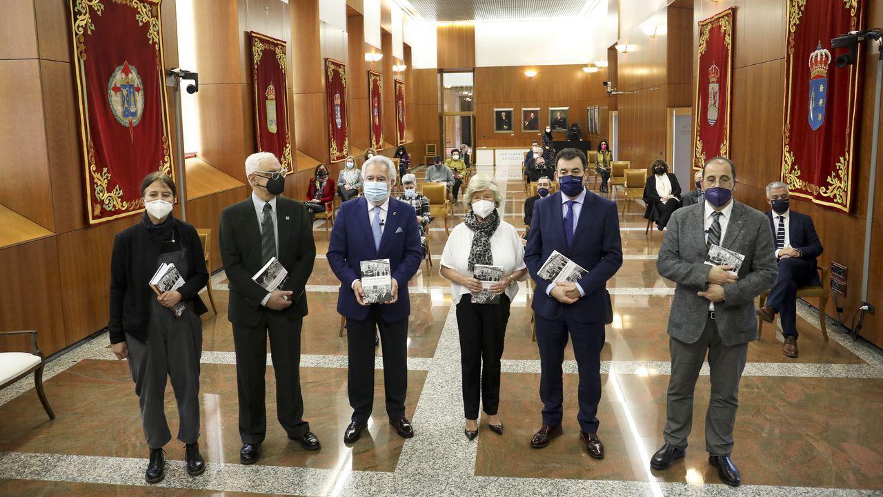 O epistolario editado pola Real Academia Galega foi presentado este venres no Parlamento