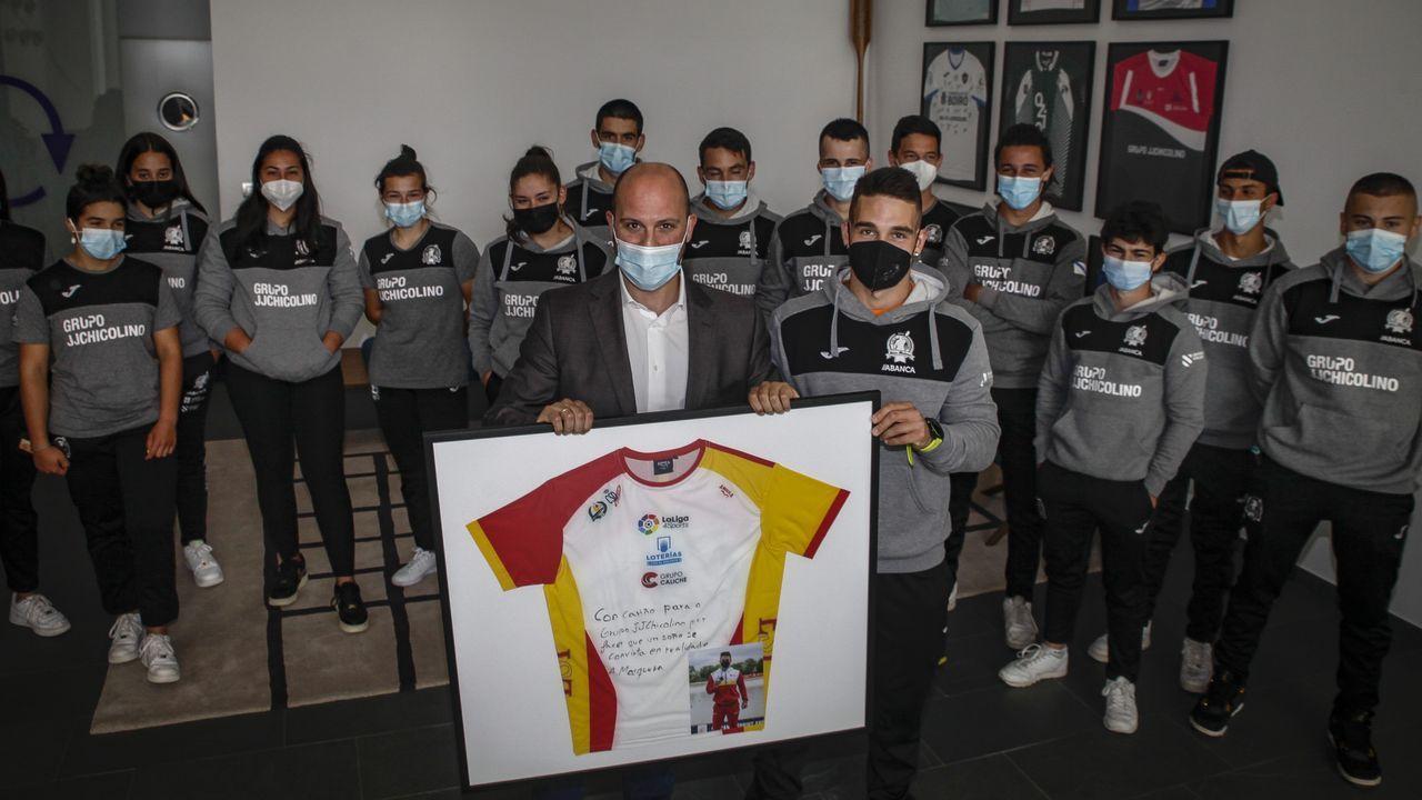 El equipo se presentó en oficialmente en la sede de una de las empresas de su patrocinador