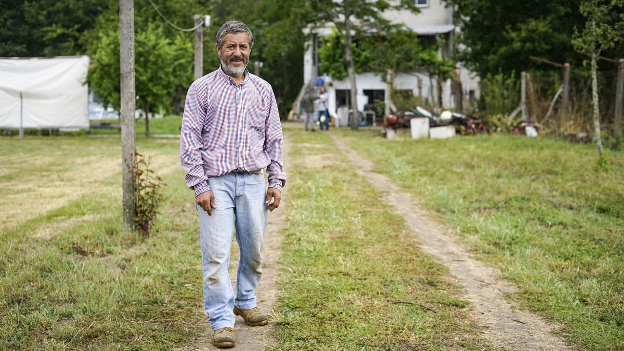 Carlos Sandianes Pérez dejó la ciudad para volver a su municipio natal, O Pereiro de Aguiar