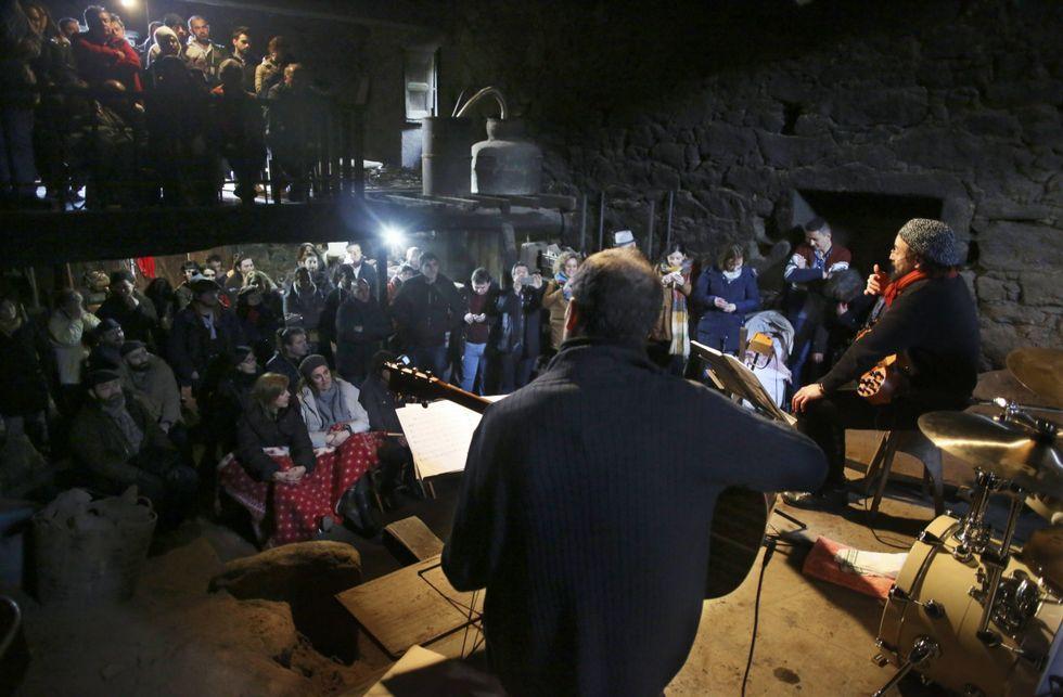 Concierto de OH Trío en la fundición de campanas Ocampo de Arcos da Condesa.