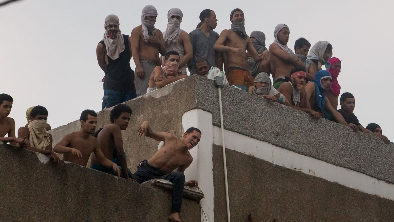 Motín de reclusos en una prisión de Caracas en el 2016