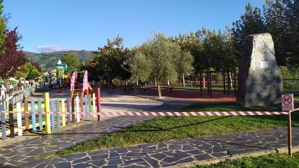 Los parques infantiles de Quiroga serán precintados de nuevo este viernes