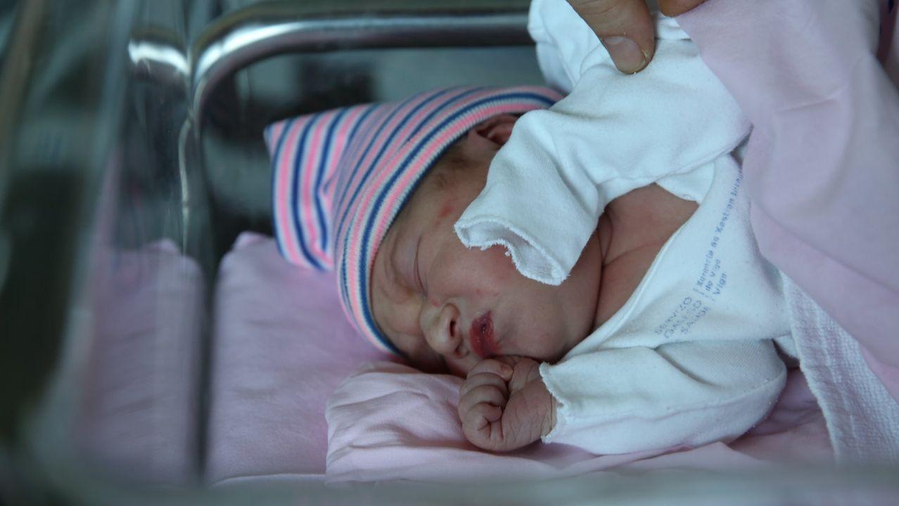 Bebé nacido en Vigo en el año 2019