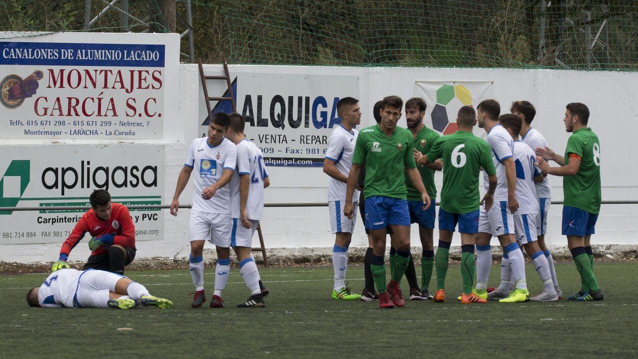 Cuatro jugadores del Dépor visitaron las instalaciones de Aspaber