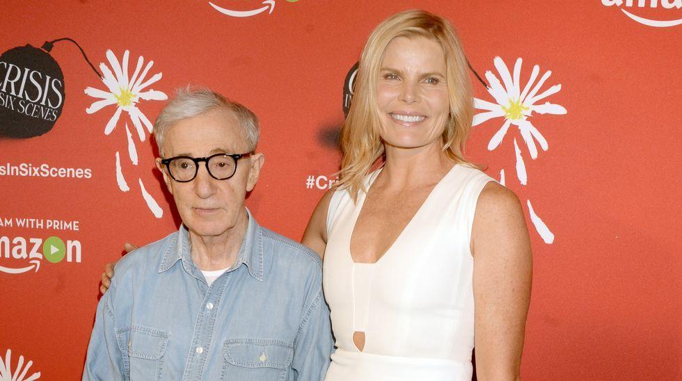 Woody Allen dirige a Penélope Cruz en «Vicky Cristina Barcelona»