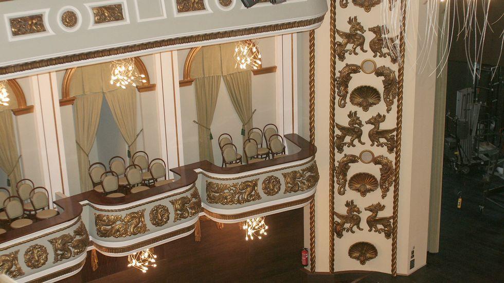 Palcos del Teatro Colón