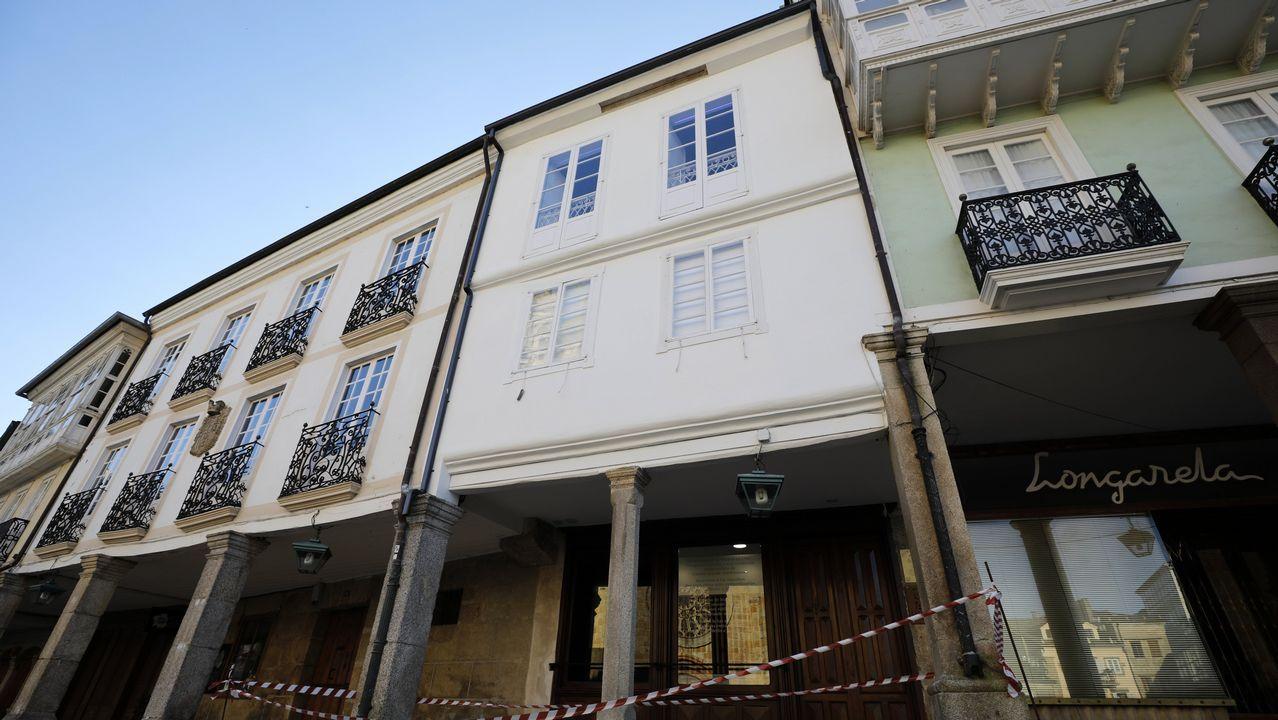 La casa-museo se encuentra en la plaza de la catedral mindoniense