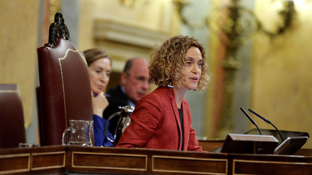 La diputada socialista por Barcelona Meritxell Batet, reelegida como presidenta del Congreso