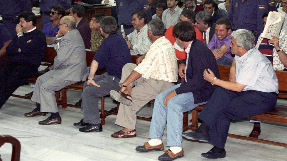 Orozco, a su llegada a los juzgados