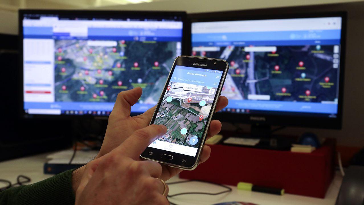 Aplicaciones de escritorio y móvil de Galicia Nomeada