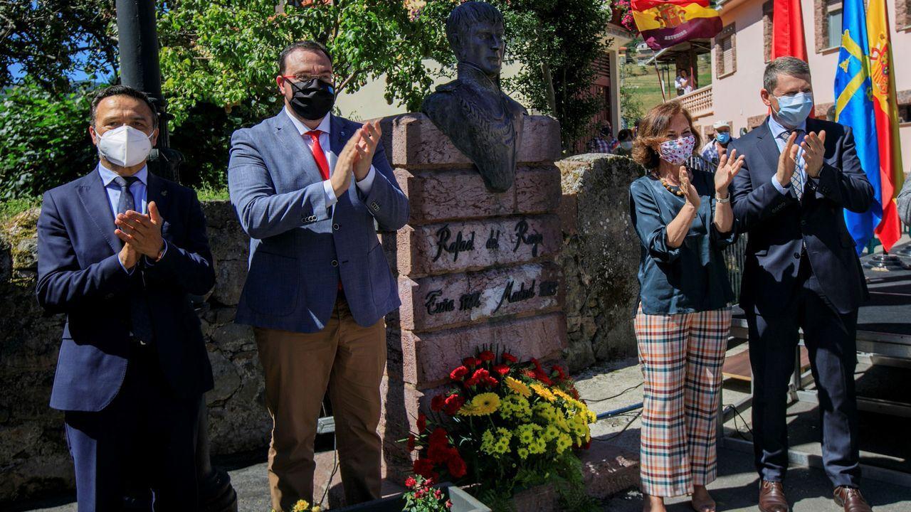 La vigencia del mensaje de Riego. La portavoz del PSOE, Adriana Lastra, interviene en el del pleno del Congreso