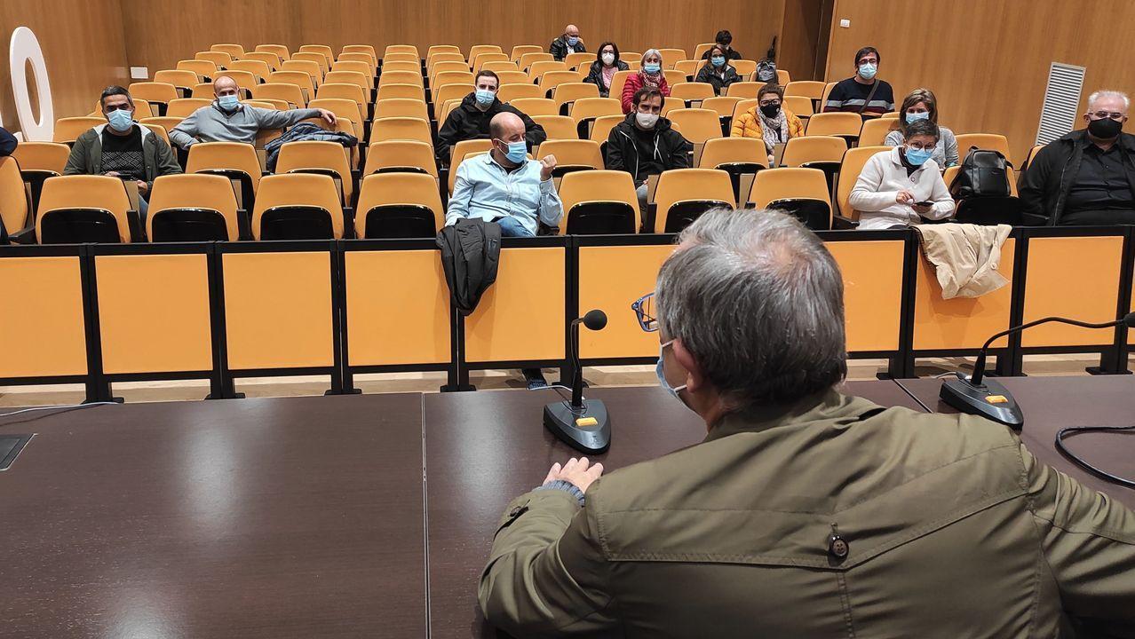 Faustino Santiago: «Se queres tranquilidade xa sabes o que tes que facer (...) Se non me pos, ti non es alcalde hoxe».Juzgados Oviedo
