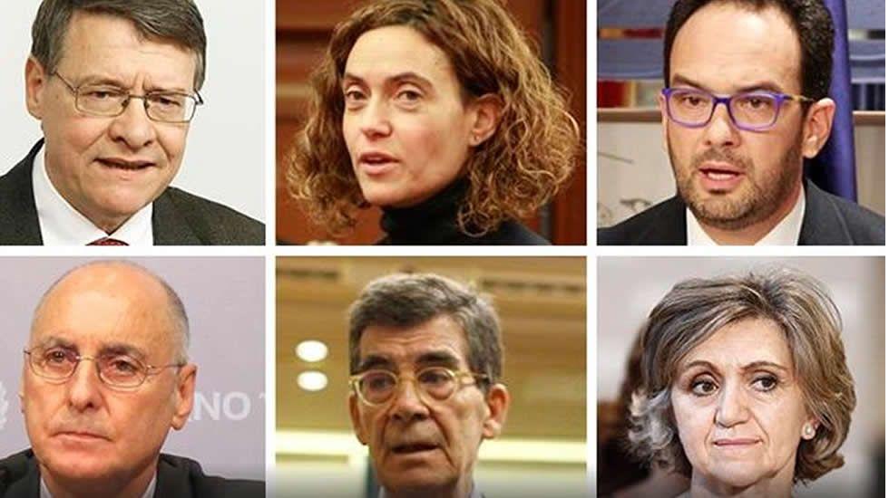 El equipo negociador de Pedro Sánchezpara intentar formar gobierno