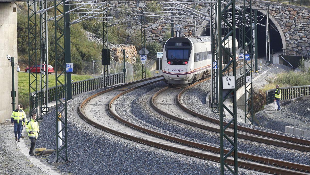 Obras en el AVE, en Ourense