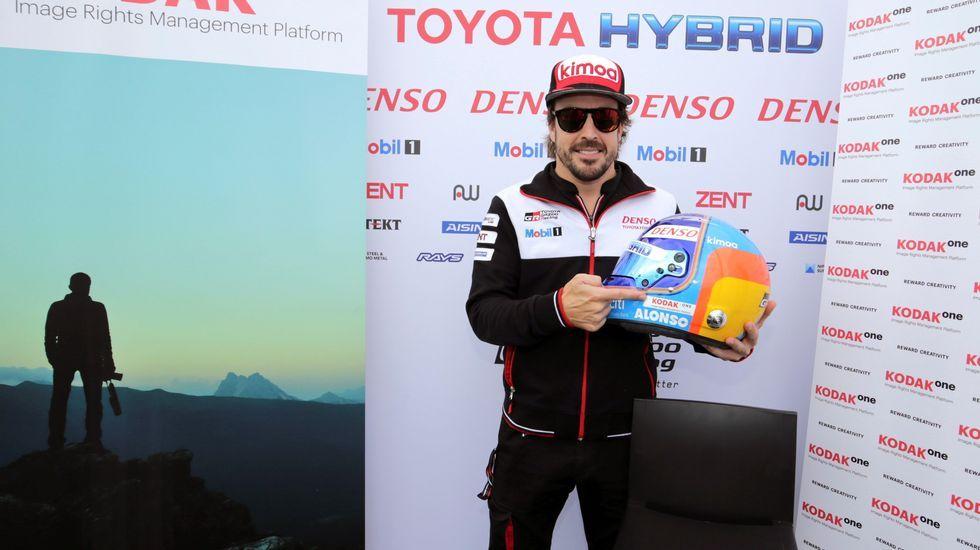 Fotografía facilitada por Toyota Gazoo Racing, del piloto español Fernando Alonso