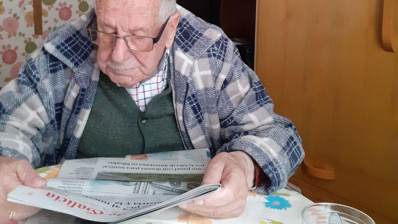 Francisco Javier Martínez Fanego había celebrado su 106 aniversario el pasado mes de abril