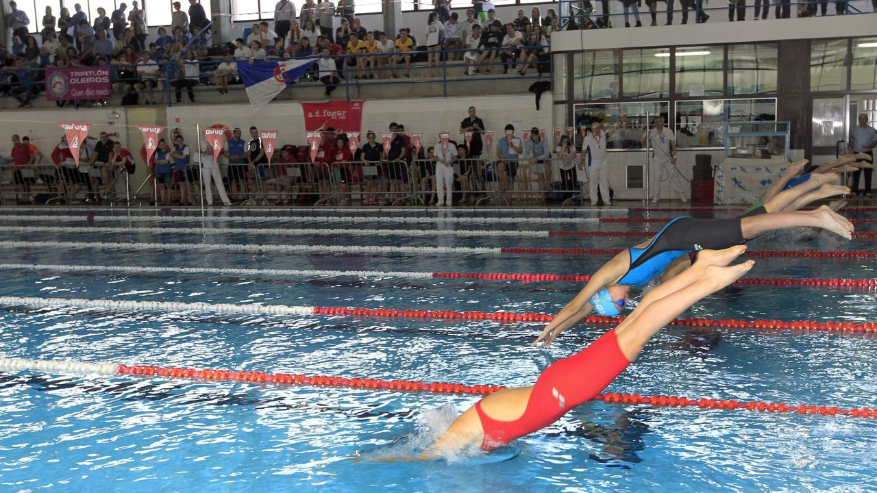 Complejo deportivo El Quirinal, en Avilés