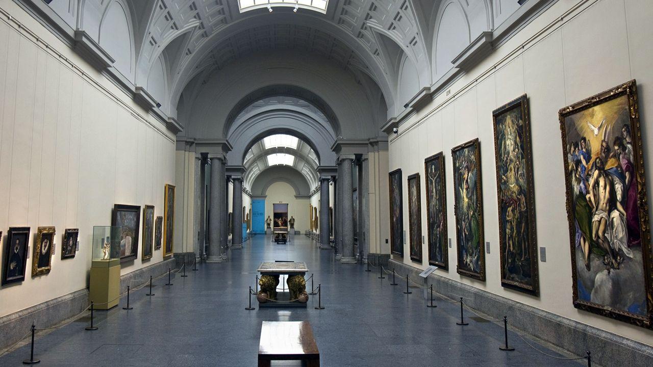 El último adiós a Rubalcaba, en imágenes.Museo del Prado