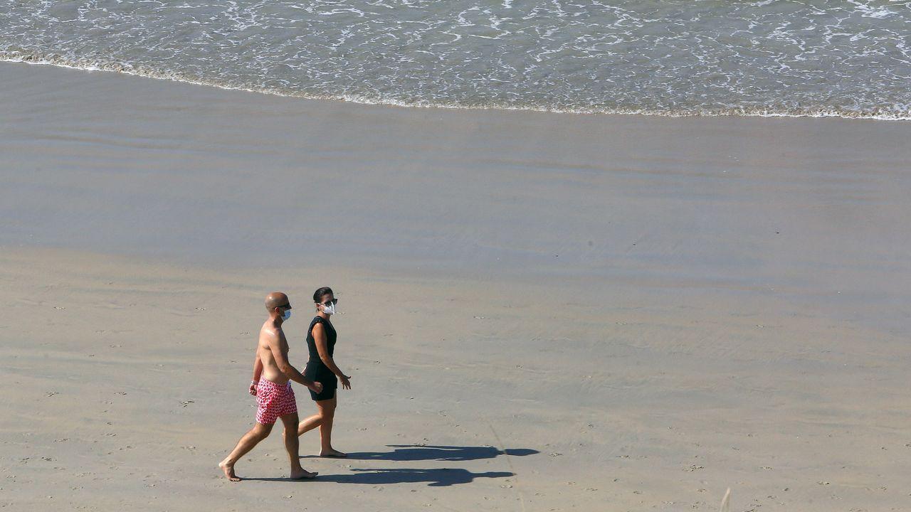 Secretos del Sanxenxo más desconocido.La playa de Coroso, en Ribeira