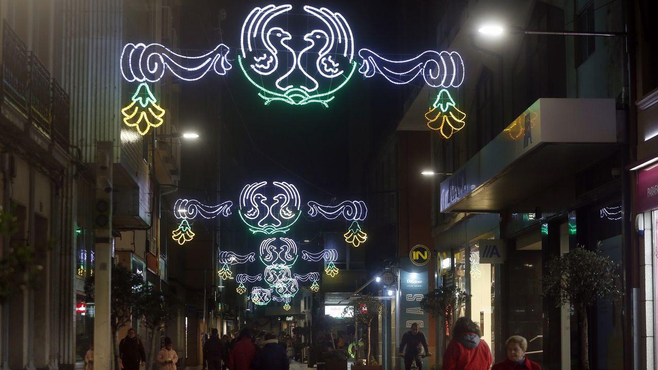 Iluminación navideña en Oviedo