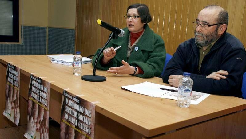 El responsabel de Educación y padre de PISA, Andreas Schleicher, y la secretaria de Estado de Eduación, Montserrat Gomendio durante la presentación del informe.