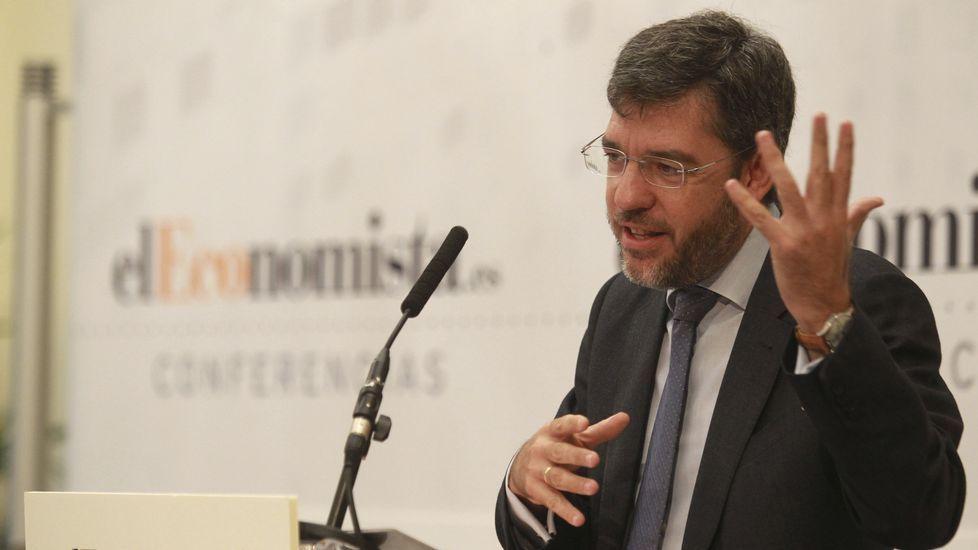 El caso Soria salpica al ministro De Guindos.Alberto Nadal