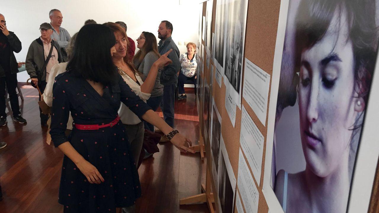 Un paseo visual por el camino de Souto a Cabo de Vila.En el acto se mostraron trabajos presentados al último concurso fotográfico de Albores