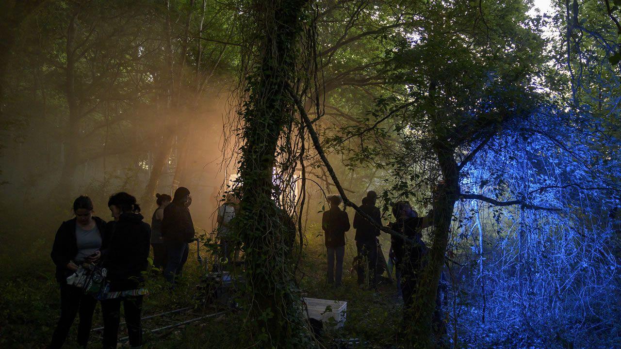 Bosque de Cecebre, donde se rodaron muchas escenas