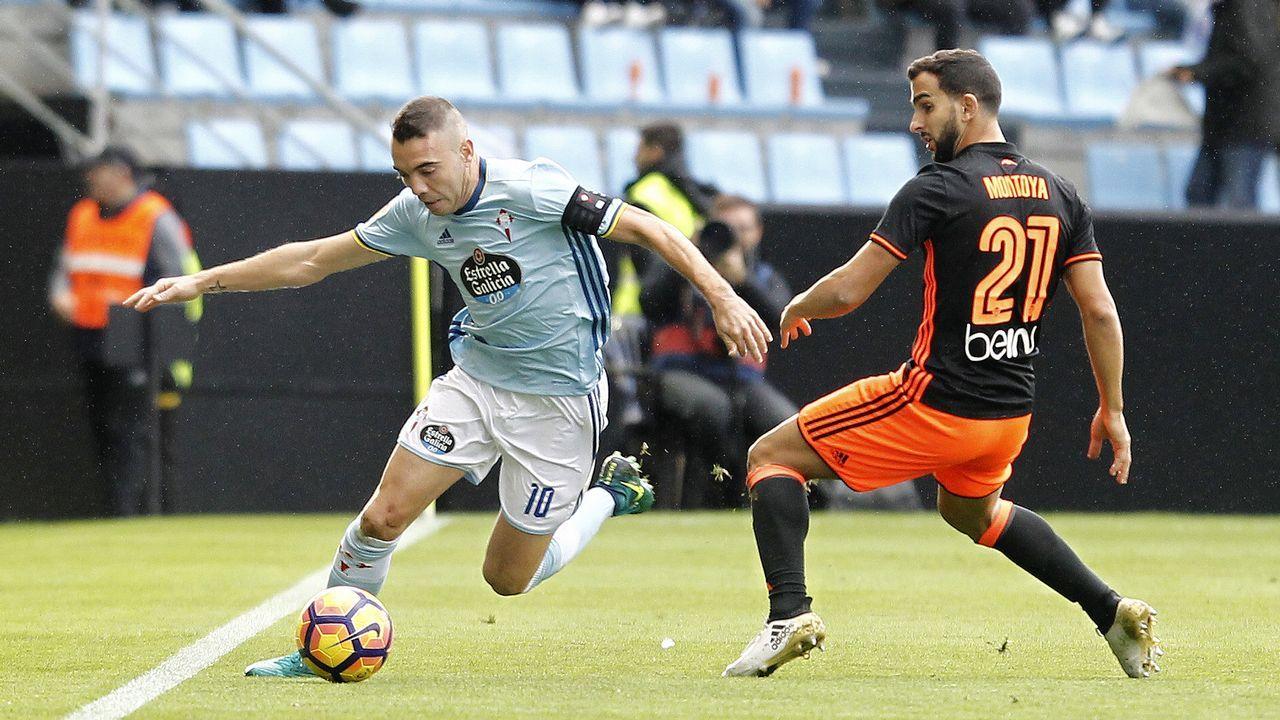 207 - Celta-Valencia (2-1) de Primera el 6 de noviembre del 2016