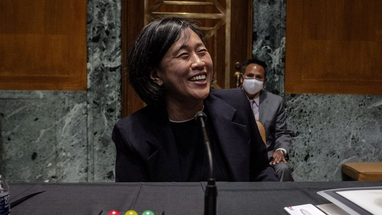 Katherine Tai, máxima representante de Comercio Exterior de Estados Unidos
