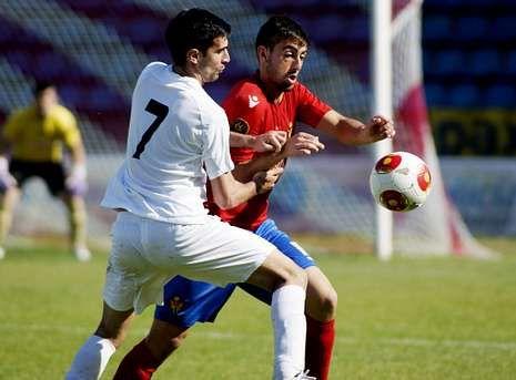 Pablo Corzo regresó a las filas del equipo B para el tramo final de la campaña, en Liga y Copa.