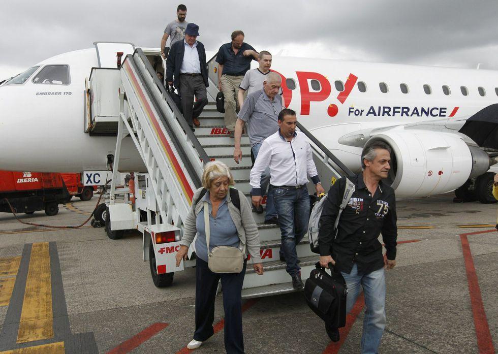 Air France cumplió en el 2014 diez años en Vigo, pero no pasará de once.