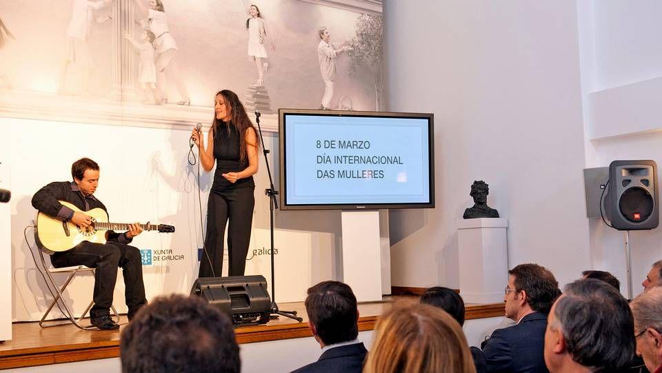 Rosa Cedrón intrepretó «Negra Sombra»