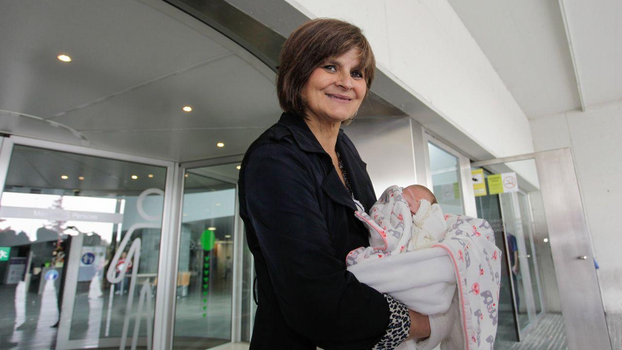 Lina, en una foto de archivo que data del 2016, que fue cuando tuvo a su última hija