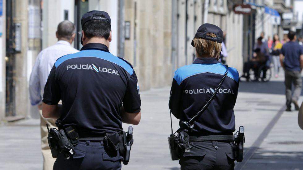 Solo dos comunidades tienen menos policías y guardias civiles que Galicia