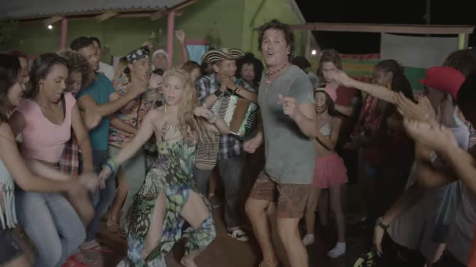 Carlos Vives feat Shakira- La bicicleta