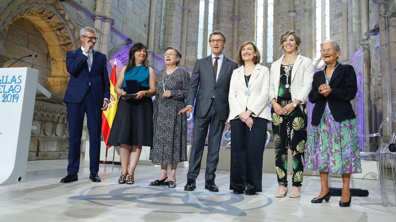 Los alcaldes Inés Rey, Abel Caballero y Fernández Lores