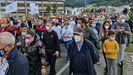 Manifestacion sindicatos Viveiro