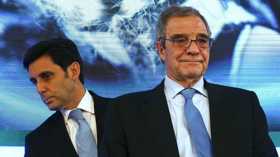 Los relevos ejecutados.Reunión de los empresarios del Consejo de Competitividad en La Moncloa, en mayo del 2015