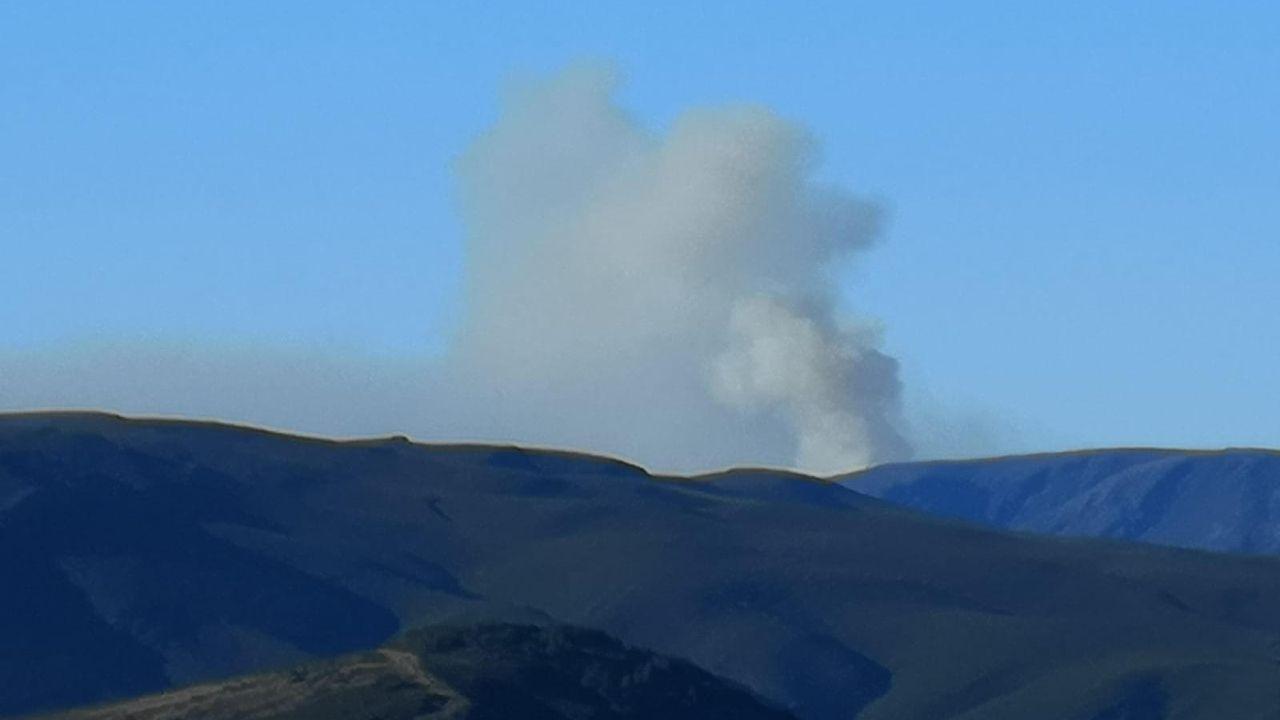 Imagen de archivo de un incendio reciente en Chandrexa