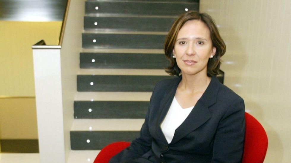 Teresa Sanjurjo.Exposición sobre el galardón al Pueblo Ejemplar