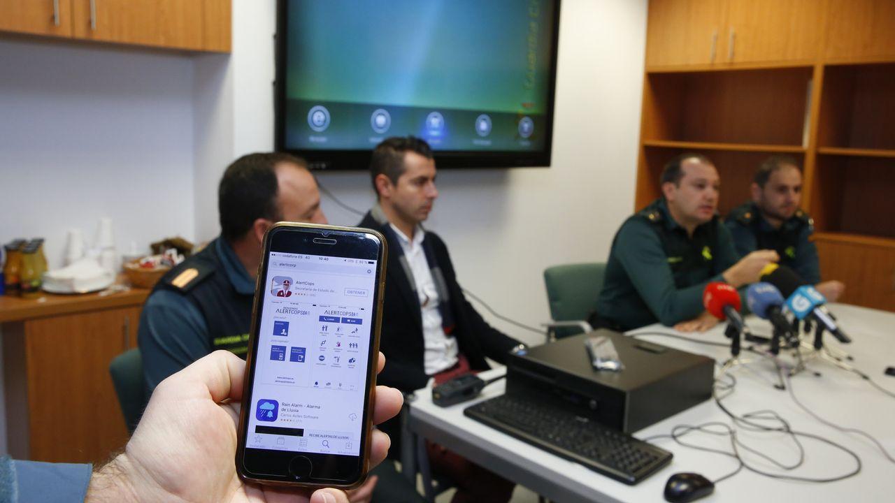 Así gestiona la Guardia Civil las alertas que recibe en la aplicación AlertCops