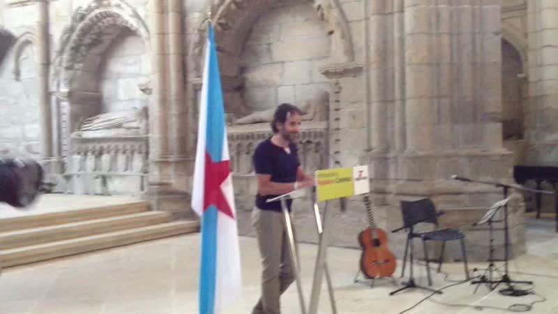 Ezequiel Mosquera: «<span lang= gl >Falar de Rosalía e de Castelao é por encima de todo falar da defensa dunha lingua</span>»