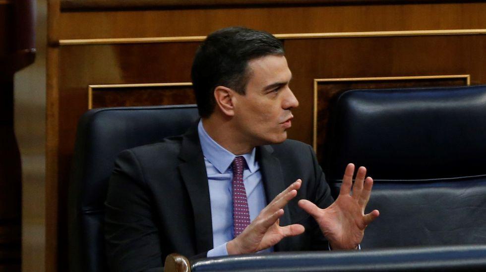 Debate en el Congreso de los Diputados de la cuarta prórroga del estado de alarma.El diputado Néstor Rego.