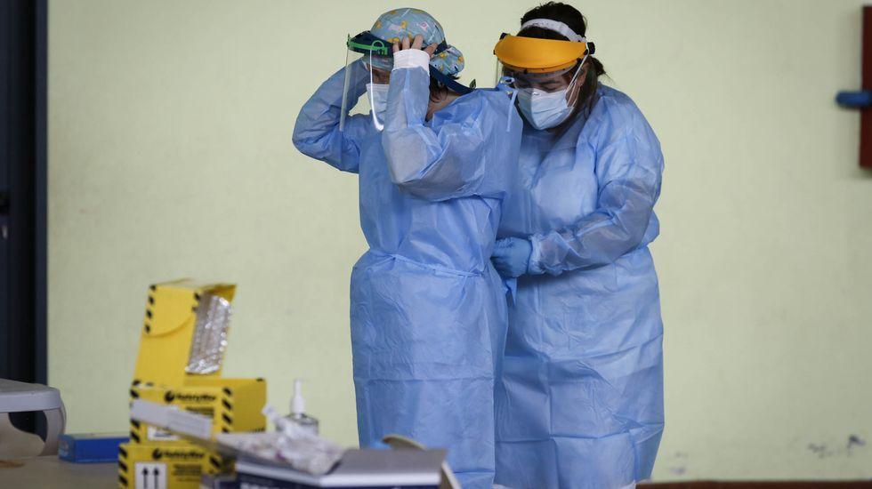 A diario se hacen cientos de PCR en la provincia