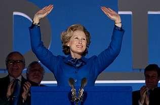 Un galardón no esperado.Meryl Streep asegura que al interpretar a Margaret Thatcher aprendió a dominar situaciones