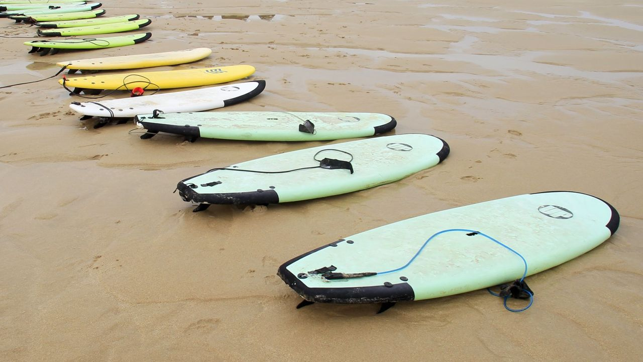 Equiocio se reivindica como certamen deportivo y saludable.Paloma Lago en la playa de La Fragata en Covas