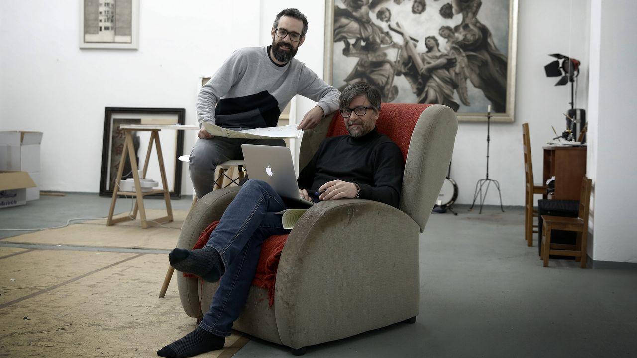 Óscar de Toro, mejor tirador de cerveza de Galicia.Agua de Cuevas