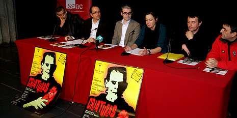 Belén Quintáns, presentando a nova versión da penúltima obra de Vidal Bolaño.