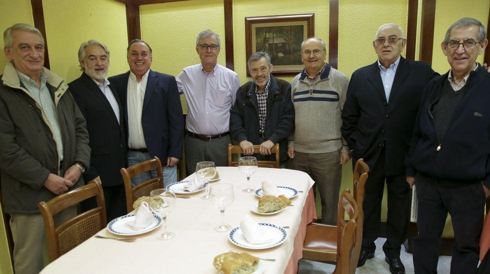 Regreso a Riazor 40 años después.José Duarte, maestre de los Caballeros de María Pita